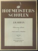 J.B.ARBAN ~ Vollständige Schule für Cornet à Pistons und Flügelhorn - Teil 1