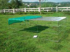 More details for rabbit guinea pig chicken duck dog pet playpen metal enclosure run runs roof