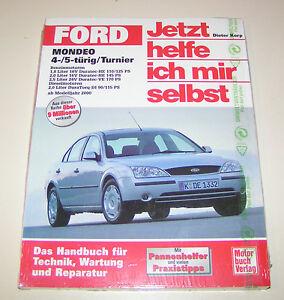 Manuale di Riparazione Ford Mondeo '01/Mondeo Familiare - da Anno Costruzione