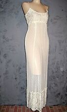 Claire Pettibone Gown Bridal AMANDA Luxury Lingerie Ivory All Lace S NEW $168