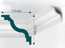 XPS Stuck Deckenleiste, 2000x110x110mm, Fachhandelsqualität, Mod. G3