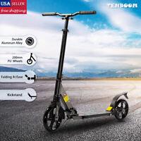Kick Scooter Folding 2 Wheels Ride Portable Lightweight Adult Adjustable Durable