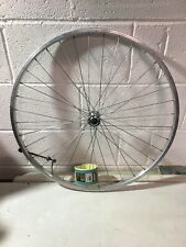 """Front Bicycle Wheel 29"""" Alloy Rim RGH931H Silver With Quick Release"""