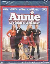 Blu-ray 4K «ANNIE • LA FELICITÀ È CONTAGIOSA» con Jamie Foxx Cameron Diaz 2015