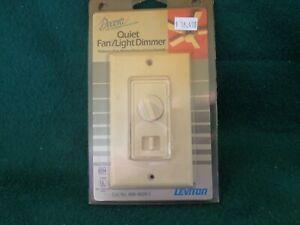 Leviton Decora 6620 Quiet Fan Speed Control Light Dimmer Ivory