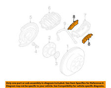 GM OEM Brake-Rear Pads 18043346