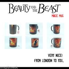 Disney Beauty and the Beast Color Changing heat sensitive Mug Cup Coffee Tea