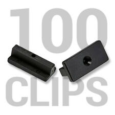 100 Composite Decking Clips Fixings T-clips Plastic Fasteners 100 BAG
