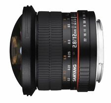 Samyang 2,8 / 12 mm Fish-Eye  Objektiv für Olympus / Panasonic MFT Vorführgerät