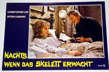Peter Cushing NACHTS WENN DAS SKELETT ERWACHT original Kino Aushangfoto # 7