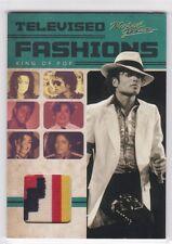 2011 PANINI MICHAEL JACKSON TELEVISED FASHIONS WORN RELIC SHIRT COSTUME SP TV2