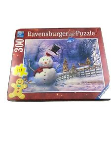 Ravensberger 300 Large Piece Jigsaw Puzzle Christmas Dashing Through The Snow