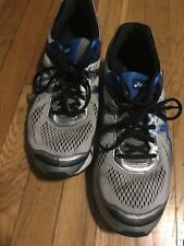 Men's Asics Duo Max Running Shoes Size 11 1/2 Grey Blue
