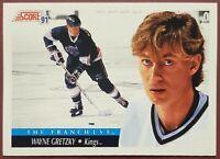 """Wayne Gretzky """"The Franchise"""" 1991-92 Score #422 Free Shipping"""