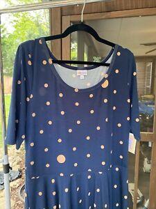 LuLaRoe Nicole Dress Size 3XL NWT 541