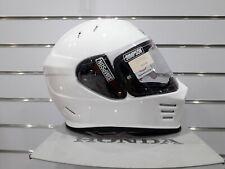 Simpson Venom Motorcycle Helmet: White: Sizes Available