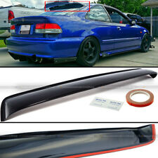For 96-00 Civic 2DR Coupe Rear Window Roof Sun Rain Shade Vent Visor Spoiler