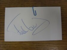 "1970-2000's Autographed White Card: Chelsea - Grodas, Frode [Hand Signed 5""x 3"""