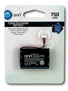 3.6V Cordless Phone Battery 750mAh for ATT GE V-Tech RCA Sanyo Motorola New R1