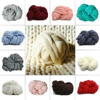 250g Super Thick Bulky Wool Yarn Soft Chunky Hand Knitting Hat Scarf Blanket