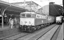 Negative Eisenbahn Spoorwegen Railway NS 1125 Nederland Netherlands 1970s