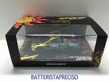 VALENTINO ROSSI 1/43 MINICHAMPS FORD FOCUS WRC 2009 RALLY MONZA SHOW