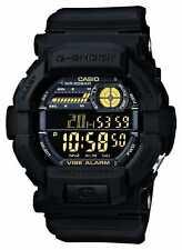 Casio G-Shock Vibrating 5 Alarm Black Yellow GD-350-1BER Watch