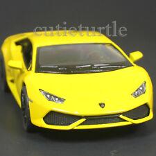 Kinsmart Lamborghini Huracan LP 610-4 1:36 Diecast Toy Car Yellow