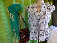 lot -42-44=FEMME 3piéces ,sac,foulard et corsage