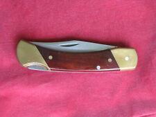 Vintage Schrade LB7 Uncle Henry Lockback Folding Hunting Knife w/New Sheath
