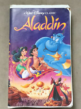 Aladdin VHS (1993) Black Diamond Classic 1662 *Rare*