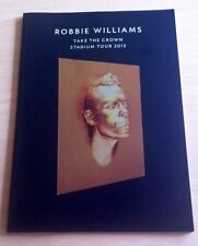 Robbie Williams Memorabilia Programmes