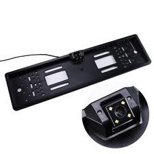 Coche cámara de visión trasera UE Marco de Matrícula Impermeable para Coche Reversa Estacionamiento noche