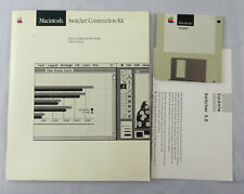 VTG Apple Macintosh 512K Switch Construction Kit Book Disk 5.0 Update Sheet