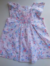 BABY INFANT TODDLER GIRL PINK SUMMER DRESS SIZE 0 FITS 6-12M *LIKE NEW