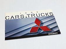 1989 Mitsubishi Galant Sigma Mirage Precis Wagon SPX Mighty Max Montero Brochure