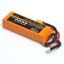 11.1V 3S 2200mAh 25C XT60 plug Lipolymer Battery Burst 40C RC plane Lipo power