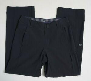 LULULEMON Men Softshell Trousers Pants L Gym Black  Jogger Wet Dry Warm Workout