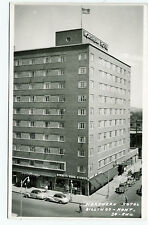 MT Montana Billings Northern Hotel Real Photo RPPC by RWG Unposted