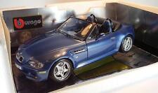 Bburago 1/18 BMW M Roadster blaumetallic OVP #2476