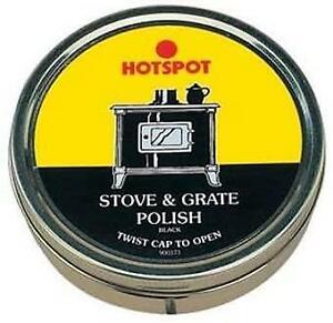 Hotspot Hydrachem Black Stove Grate Fire Woodburner Polish Restorer 170ml