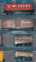 HO Scale Athearn 40' Billboard Advertising Reefer Car Log Caboose LOT 4 Box 10