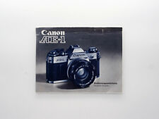 [GOOD] Original Handbuch Deutsche Ausgabe Bedienungsanleitung - Canon AE1 AE-1