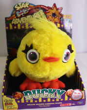 Toy Story4 Star Adventurer DUCKY Signature Collection Deluxe Talking Carnival