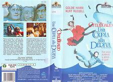 UNA COPPIA ALLA DERIVA (1987) VHS ORIGINALE 1ª EDIZIONE