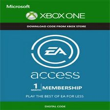 EA accesso 1 mese adesione XBOX ONE CODICE CHIAVE SPEDIZIONE VELOCE-funziona in tutto il mondo