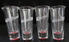Set of 4 La Vie Grand Marnier Lapostolle French Tall Shot Glasses