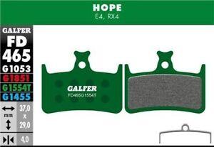 Galfer Disc Brake Pads Hope E4 - Pro Compound - G1554T Green