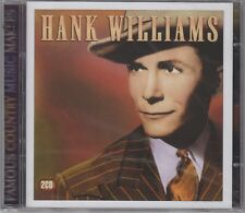 "Hank Williams ""Famous Country Music Makers"" 2CD Set NEW & SEALED 1st Class Post"