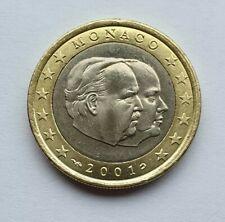 Monaco 2001 : pièce de 1 euro issue du starterkit